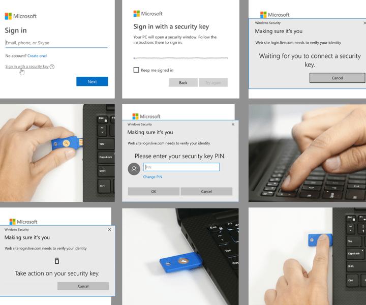 Yubico Yubikey Passwordless Windows login