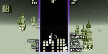 Tetris Effect has a hidden Game Boy level