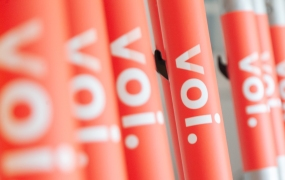 Voi: Electric scooters
