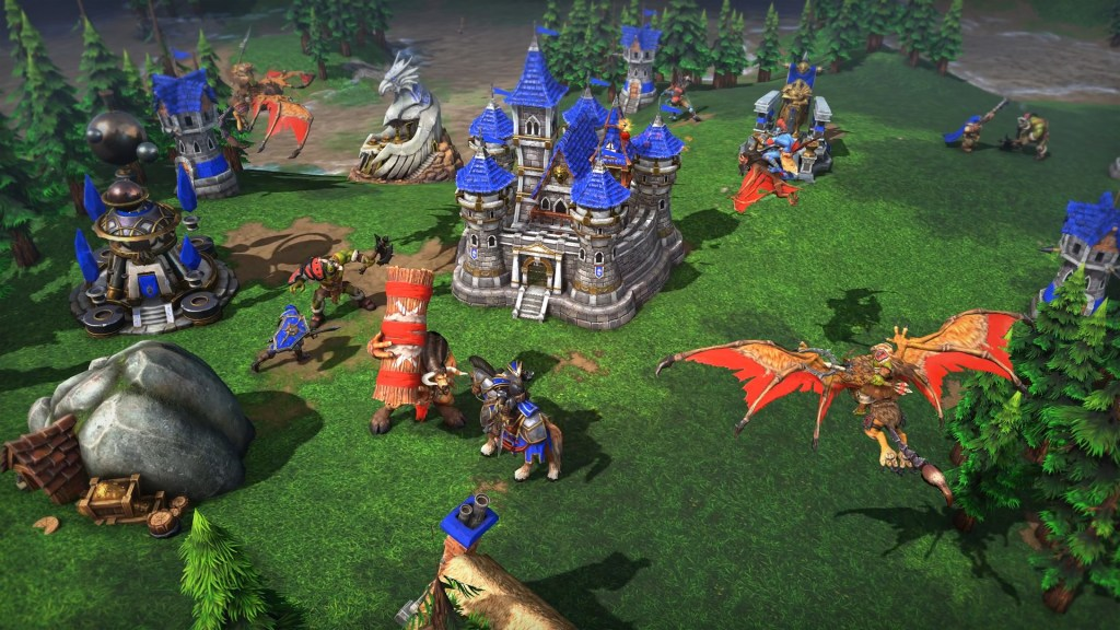 A town in Warcraft III: Reforged.