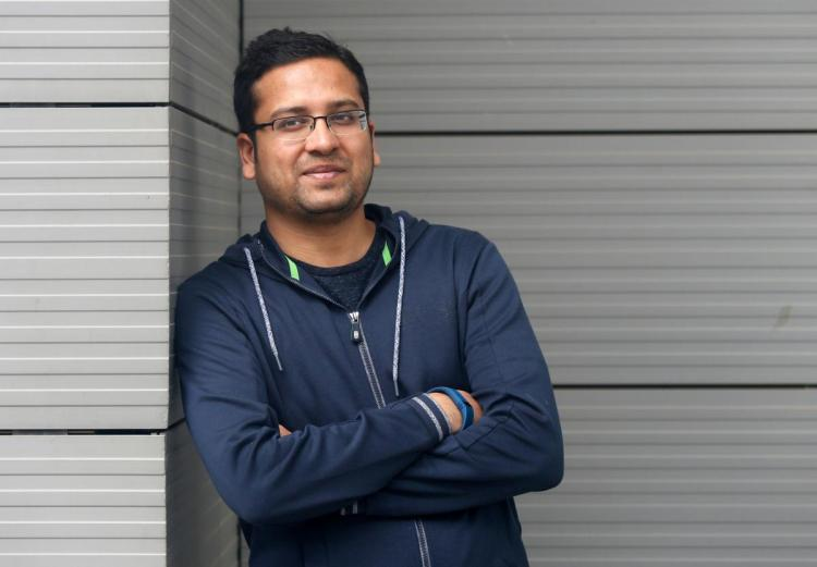 Binny Bansal, Group Chief Executive Officer of India's largest e-commerce firm Flipkart, poses at the company's headquarters in Bengaluru, India July 7, 2017.