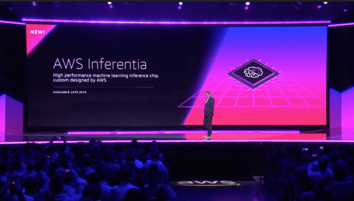 Amazon unveils AWS Inferentia chip for AI deployment