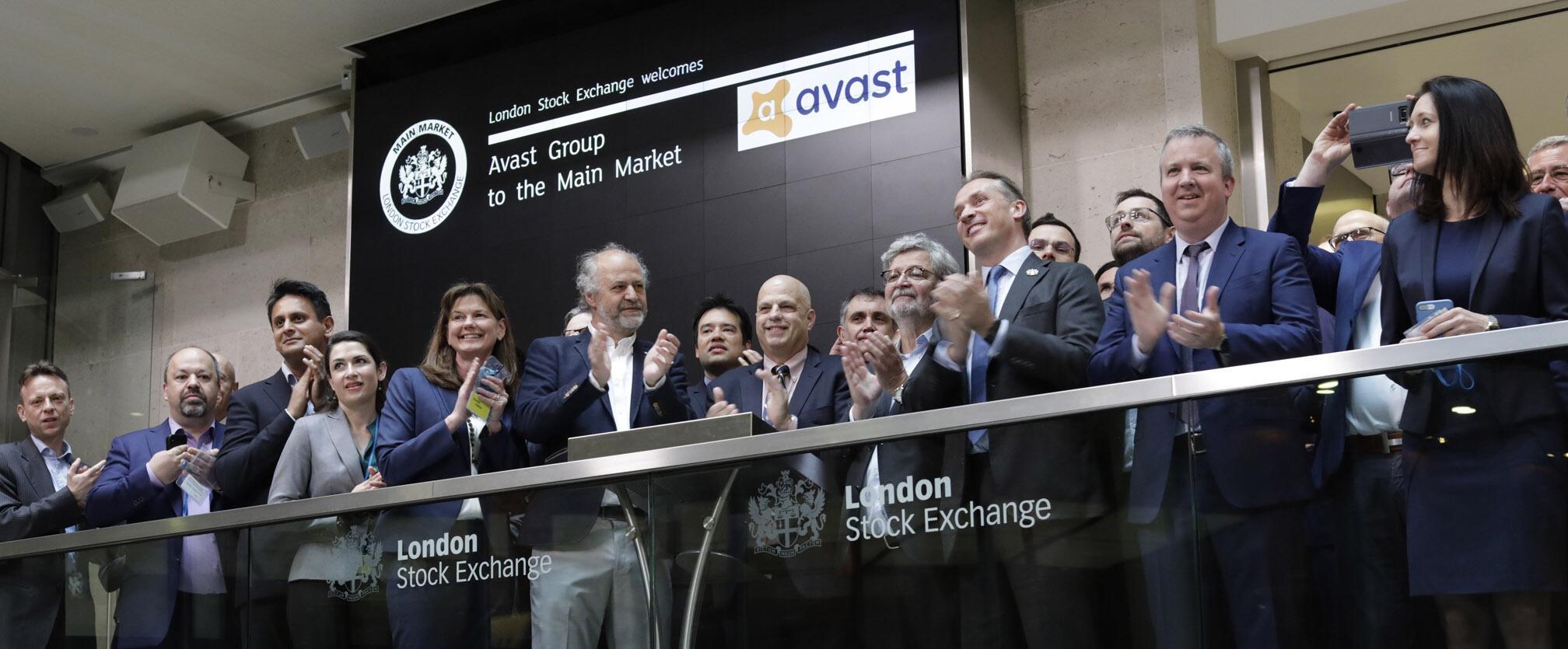 London stock exchange avast ipo