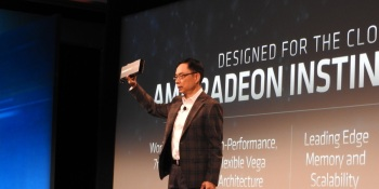 AMD shows newest Radeon Instinct MI60 graphics chips for data centers