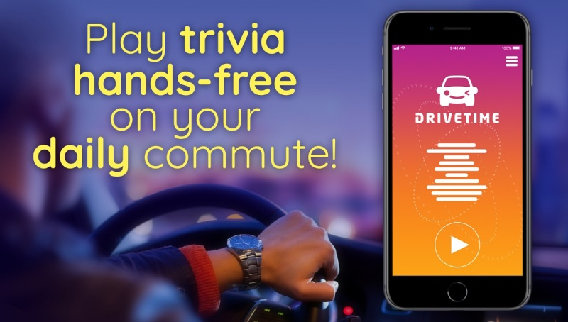 Drivetime offers voice-based social trivia games.