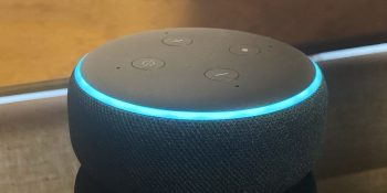 The third-generation Echo Dot.