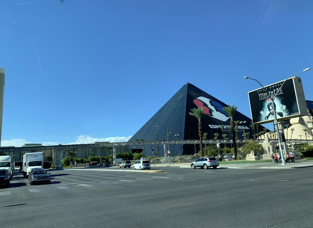 The Esports Arena at the Luxor hotel in Las Vegas.