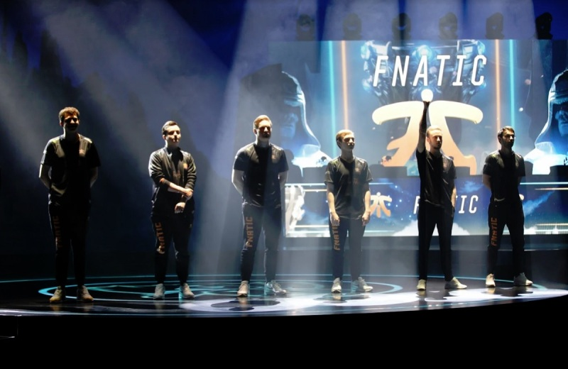 Fnatic at the League of Legends World Championships.