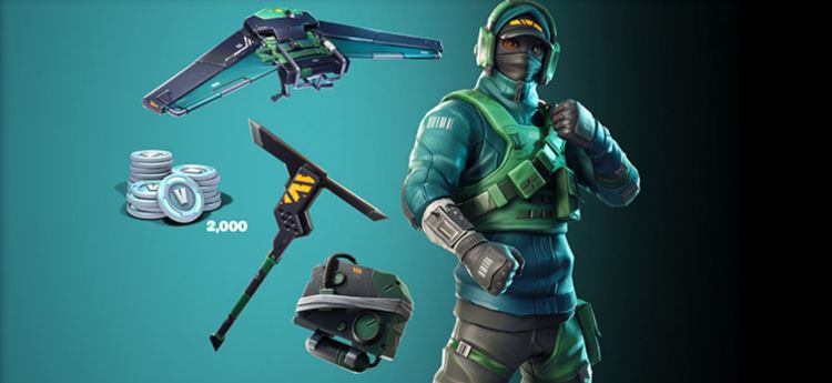 Get yourself some Fortnite goods with your graphics card.
