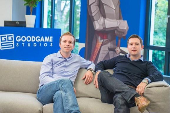 Brothers Christian (left) and Kai Wawrzinek of Goodgame Studios.