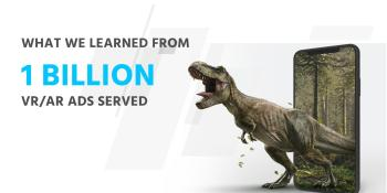 1 billion AR/VR ad impressions: What we've learned