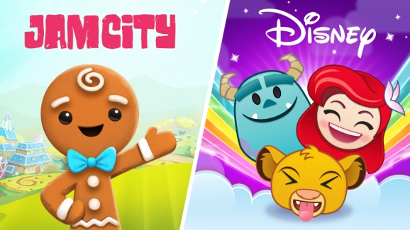 Jam City is teaming up with Disney.