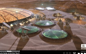 Project Eagle is a vision for a Mars base.