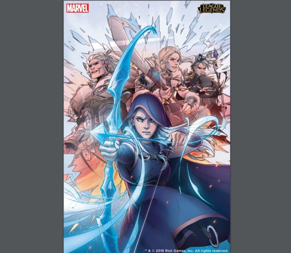 Marvel is making a League of Legends comic book.