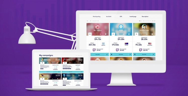 Matchmade has a dashboard for matching game marketers with influencers.