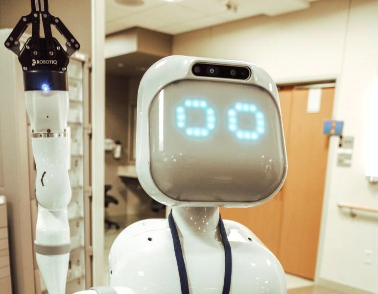 Moxi the robot