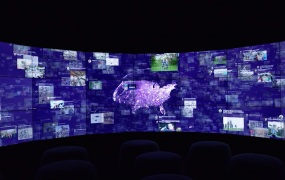 IBM Immersion Room at the Watson Experience Center.