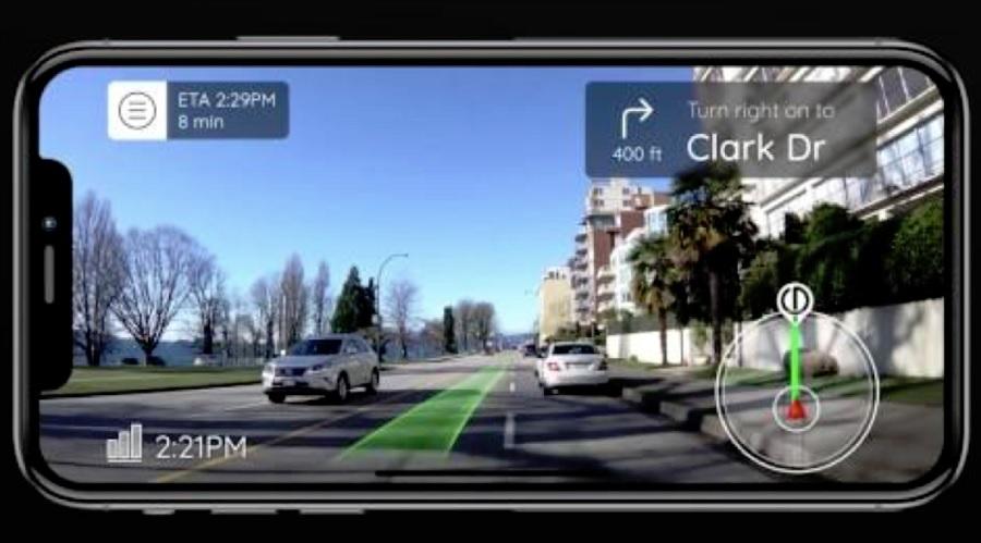 Phiar uses augmented reality to make driving and navigating easier.