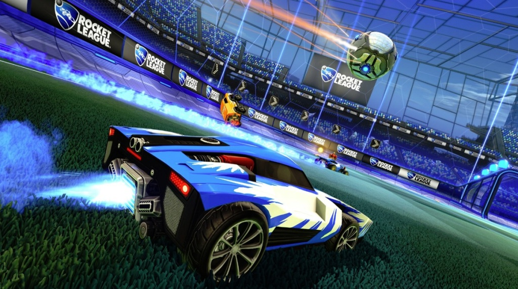 Rocket League is one of the PlayVS esports games.