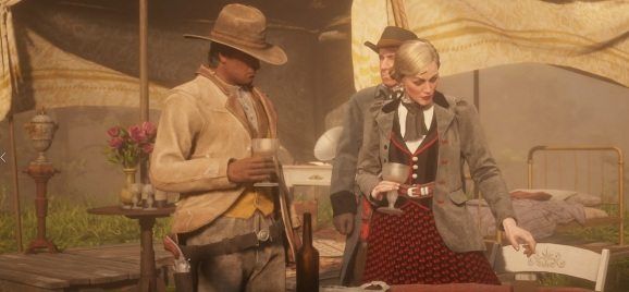 Jessica LeClerk has hired you to take out some people in Red Dead Online.