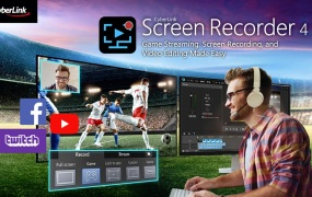 Screen Recorder 4 lets you capture, edit, and stream videos.