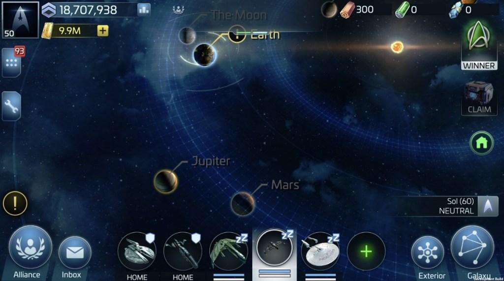 Star Trek Fleet Command impressions -- Beaming you into