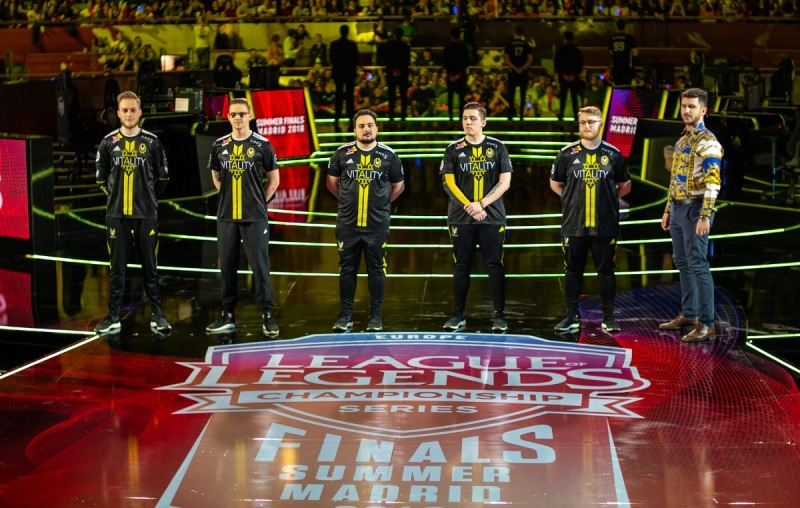 Team Vitality at Europe's League of Legends Champ