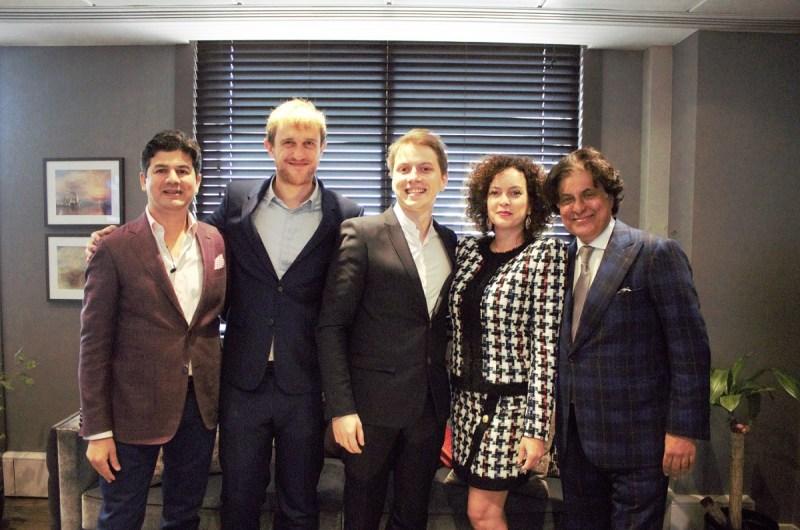Team Vitality leaders and its new investor Tej Kohli.