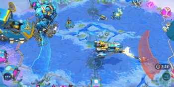 Real-time strategy in Wild Beyond.