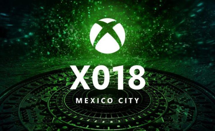 Microsoft's XO18 event in Mexico City.