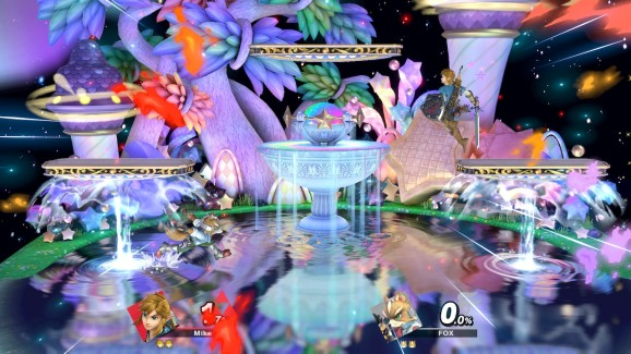 Fountain of Dreams is my favorite level.