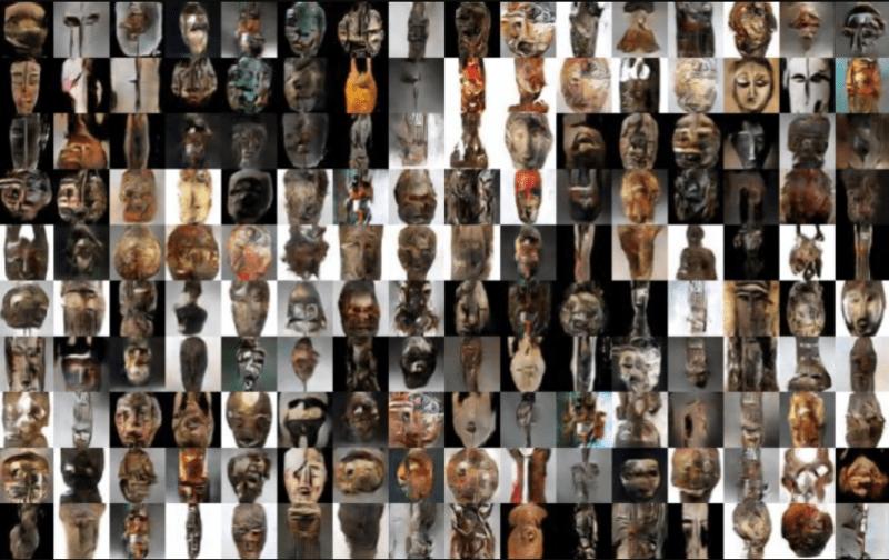 Africa masks