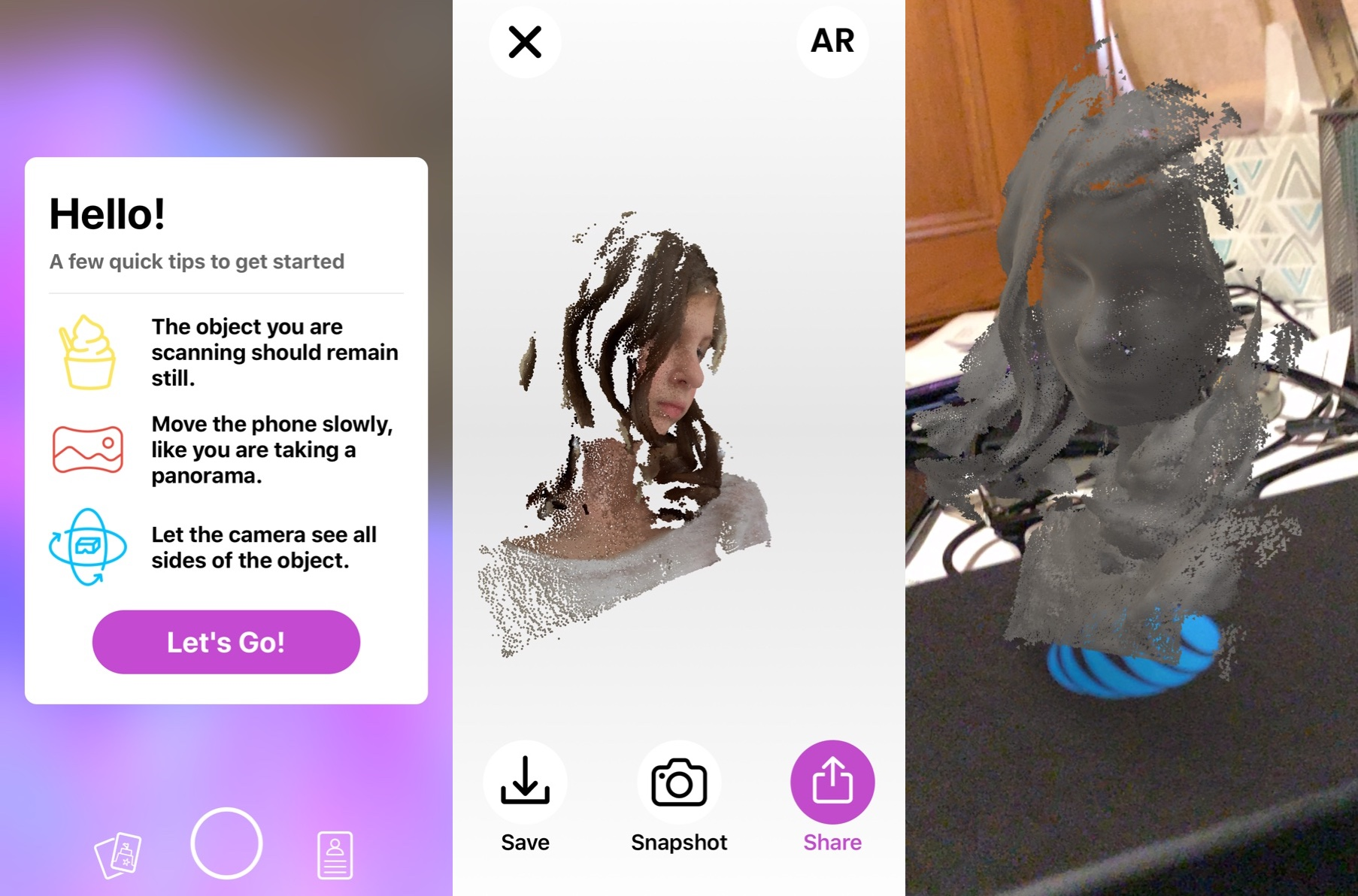 Free Capture App Turns Some iPhones and iPads into 3D Scanners for AR