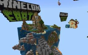 Abstraction: MineCon Earth from Jigarbov on the Minecraft Marketplace.