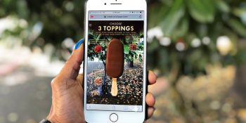 Blippar example: What's in a Magnum?