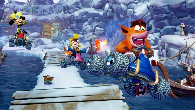 Crash Team Racing: Nitro-Fueled.