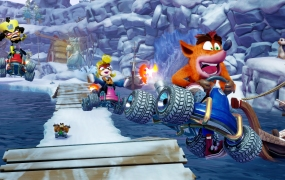 Crash Team Racing: Nitro-Fueled.