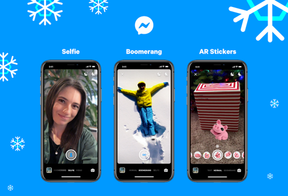 Facebook Messenger gets an Instagram-like refresh with new camera effects