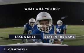 CrashCourse is a VR app that teaches kids about the risk of concussions in football.