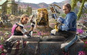 Far Cry: New Dawn's villains, Mickey and Lou.