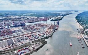 Port of Hamburg in Germany
