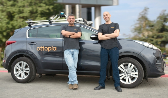 Ottopia founders Amit Rosenzweig (CEO) and Leon Altarac (CTO)