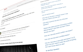 Quora: A hacking question on the Q&A website