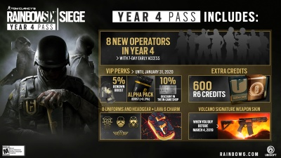 Rainbow Six: Siege's Year 4 pass is out now | VentureBeat