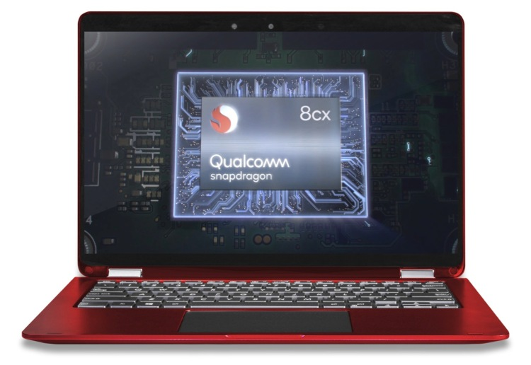 Microsoft has been working with Qualcomm on always connected PCs with Snapdragon's 8cx chips.
