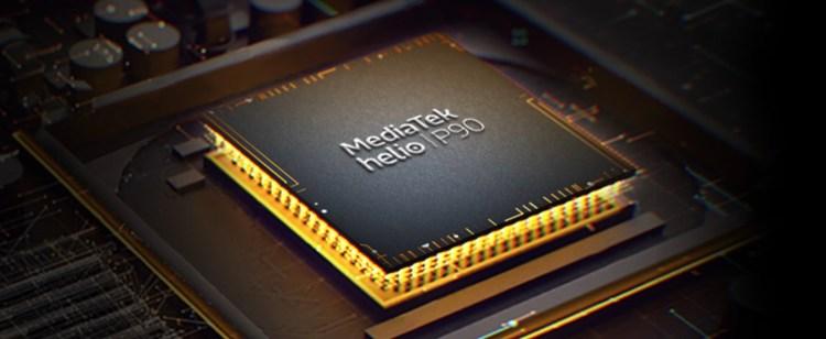 Helio P90 System on Chip (SoC).
