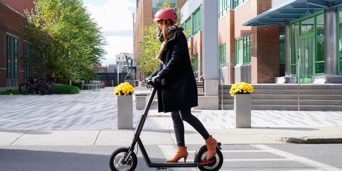 The Superpedestrian E-Scooter