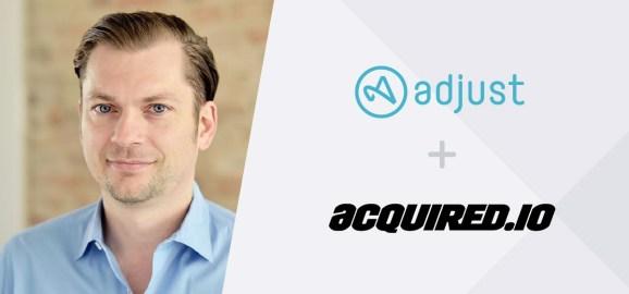 Adjust is acquiring Acquired.io