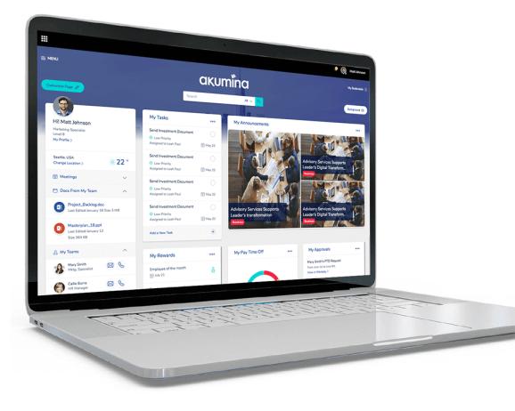 Akumina raises $7 5 million to modernize workplace intranet