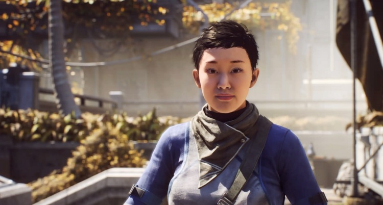 Brin is part of the Sentinels, the police in Anthem.